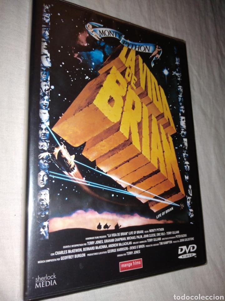 LA VIDA DE BRIAN DVD CINE COMEDIA MONTY PYTHON NUEVA PRECINTADA (Cine - Películas - DVD)