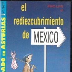 Cine: EL REDIEZCUBRIMIENTO DE MÉXICO. PROTAGONIZADA POR ALFREDO LANDA. Lote 213457922