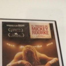 Cinema: G-23 DVD CINE NUEVO PRECINTADO EL LUCHADOR MICKEY ROURKE. Lote 213504755