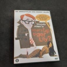 Cinéma: VO 6 WHAT'S UP TIGER LILY? - DVD SEGUNDA MANO VERSION ORIGINAL. Lote 213598526