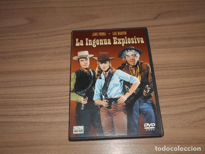 LA INGENUA EXPLOSIVA DVD JANE FONDA LEE MARVIN COMO NUEVA (Cine - Películas - DVD)