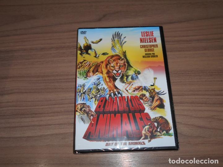 EL DIA DE LOS ANIMALES DVD LESLIE NIELSEN NUEVA PRECINTADA (Cine - Películas - DVD)