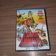 Cine: EL DIA DE LOS ANIMALES DVD LESLIE NIELSEN NUEVA PRECINTADA. Lote 213645728