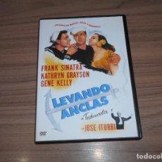 Cine: LEVANDO ANCLAS DVD FRANK SINATRA GENE KELLY WARNER COMO NUEVA. Lote 213686340