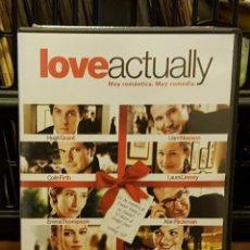 Cine: LOVE ACTUALLLY - MUY ROMÁNTICA , MUY COMEDIA - HUGH GRANT - LIAN NEESON - COLIN FIRTH - LAURA LINNEY. Lote 213720381