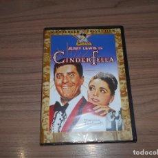 Cine: CINDERFELLA DVD JERRY LEWIS NUEVA PRECINTADA. Lote 213733190