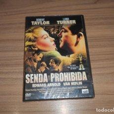 Cine: SENDA PROHIBIDA DVD LANA TURNER ROBERT TAYLOR VAN HEFLIN NUEVA PRECINTADA. Lote 213733902