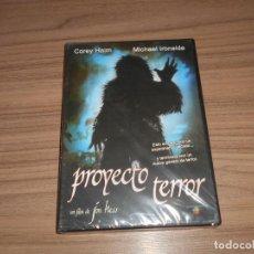 Cine: PROYECTO TERROR DVD DE JON HESS COREY HAIM NUEVA PRECINTADA. Lote 213757292