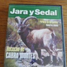 Cine: RECECHO DE CABRA MONTÉS / PERDICES DE BERGATIÑOS / NUESTROS OFIDIOS (JARA Y SEDAL Nº 50) DVD. Lote 213798113