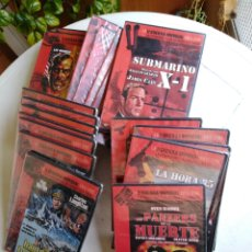 Cine: LOTE DE 28 PELÍCULAS DVD ( LA II GUERRA MUNDIAL ). Lote 213880650