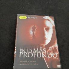 Cine: DVR 1126 EN LO MÁS PROFUNDO -DVD SEGUNDA MANO CON SLIMCOVER RECORTADO. Lote 213948570