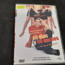 Cine: DVR 1122 40 DÍAS Y 40 NOCHES -DVD SEGUNDA MANO CON SLIMCOVER RECORTADO. Lote 213950603