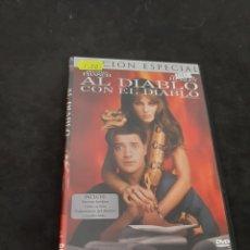Cine: DVR 1121 AL DIABLO CON EL DIABLO -DVD SEGUNDA MANO CON SLIMCOVER RECORTADO. Lote 213950665