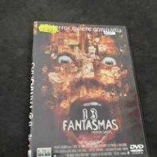 Cine: DVR 1120 13 FANTASMAS -DVD SEGUNDA MANO CON SLIMCOVER RECORTADO. Lote 213950741