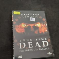Cine: DVR 1197 LONG TIME DEAD -DVD SEGUNDA MANO CON SLIMCOVER RECORTADO. Lote 213951587