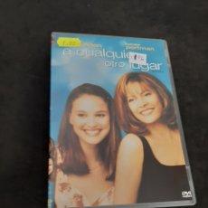 Cine: DVR 1196 A CUALQUIER OTRO LUGAR -DVD SEGUNDA MANO CON SLIMCOVER RECORTADO. Lote 213951656