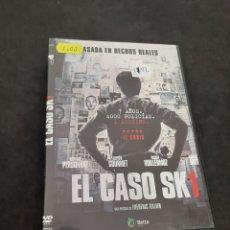 Cine: DVR 1192 EL CASO SK1 -DVD SEGUNDA MANO CON SLIMCOVER RECORTADO. Lote 213951937