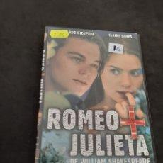 Cine: DVR 1188 ROMEO Y JULIETA -DVD SEGUNDA MANO CON SLIMCOVER RECORTADO. Lote 213952117