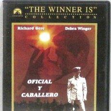 Cine: OFICIAL Y CABALLERO - RICHARD GERE Y DEBRA WINGER - DVD. Lote 214014298