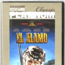 Cine: EL ALAMO - JOHN WAYNE - RICHARD WIDMARK Y RICHARD BOONE - DVD - PRECINTADO. Lote 214015370