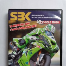Cine: SBK SUPERBIKE WORLD CHAMPIONSHIP SOLO MOTO 2006 LO MEJOR DVD KAWASAKI. Lote 214055712