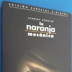 Cine: DVD / LA NARANJA MECANICA - STANLEY KUBRICK / COMO NUEVA, CAJA METÁLICA, (EDICIÓN ESPECIAL 2 DISCOS). Lote 214128332