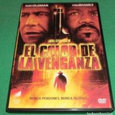 Cine: DVD EL COLOR DE LA VENGANZA / GARY OLDMAN (UNA SOLO PASE)PERFECTO ESTADO!!. Lote 214154271