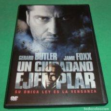 Cine: DVD UN CIUDADANO EJEMPLAR / GERARD BUTLER / JAMIE FOXX (UNA SOLO PASE)PERFECTO ESTADO!!. Lote 214154668