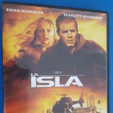Cine: DVD / LA ISLA - MICHAEL BAY / COMO NUEVA, CAJA NORMAL. Lote 214204596