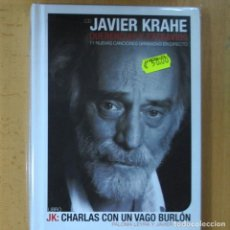 Cine: JAVIER KRAHE - QUERENCIAS Y EXTRAVIOS - CD + LIBRO. Lote 214260087