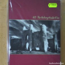 Cine: U2 - THE UNFORGETTABLE FIRE - CD + DVD. Lote 214260107