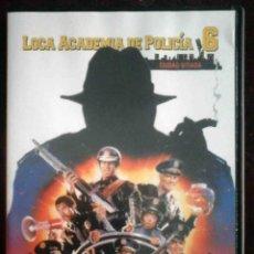 Cine: TODODVD: LOCA ACADEMIA DE POLICÍA 6 CIUDAD SITIADA (BUBBA SMITH, DAVID GRAF, MICHAEL WINSLOW). Lote 214311660