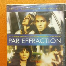 Cinema: PAR EFFRACTION. L'AMOUR N'EST PAS UN CRIME ORDINAIRE. DVD. EN FRANCÉS. Lote 214429252