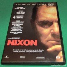 Cine: DVD NIXON / ANTHONY HOPKINS (UNA SOLO PASE)PERFECTO ESTADO!!. Lote 214447861