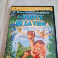 Cine: 28-DVD EN BUSCA DEL VALLE ENCANTADO LA FUENTE DE LA VIDA. Lote 214467797