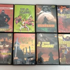 Cine: LOTE 8 DVDS PELICULAS DE KUNG FU NINJAS ARTES MARCIALES. Lote 214646633