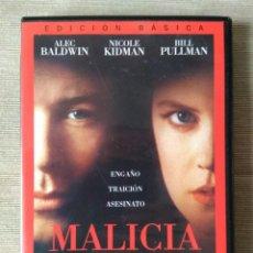 Cine: ENVIO INCLUIDO // DVD MALICIA. Lote 207619432