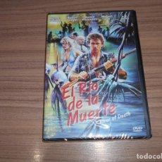 Cinéma: EL RIO DE LA MUERTE DVD MICHAEL DUDIKOFF DONALD PLEASENCE NUEVA PRECINTADA. Lote 257657415