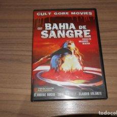 Cine: BAHIA DE SANGRE DVD DE MARIO BAVA TERROR NUEVA PRECINTADA. Lote 288867113