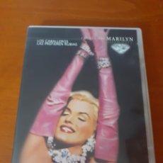 Cine: DVD Nº 1 DE LA SERIE MARILYN MONROE LOS CABALLEROS LAS PREFIEREN RUBIAS. Lote 215087442