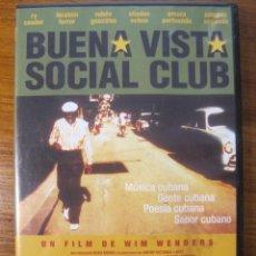 Cine: BUENA VISTA SOCIAL CLUB- WIM WENDERS DVD. Lote 215198870