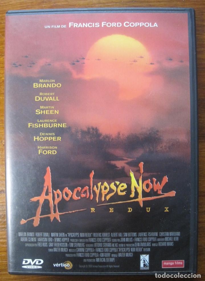 APOCALYPSE NOW-REDUX- FRANCIS FORD COPPOLA (Cine - Películas - DVD)