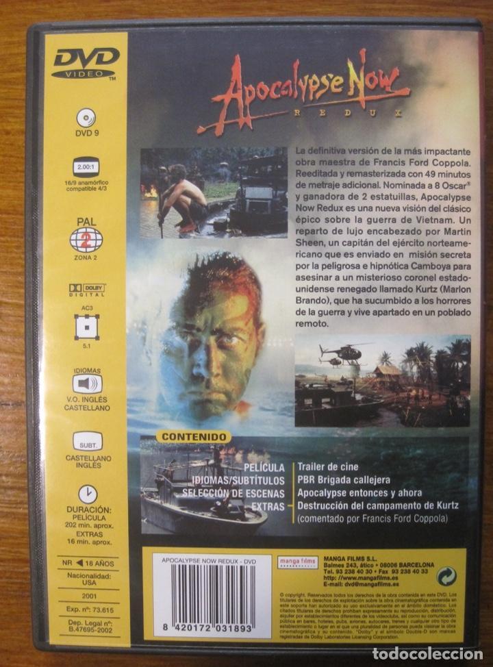 Cine: Apocalypse Now-Redux- Francis Ford Coppola - Foto 2 - 215199290