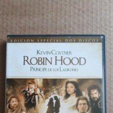 Cinema: ROBIN HOOD PRÍNCIPE DE LOS LADRONES - EDICIÓN ESPECIAL DE DOS DISCOS. Lote 215224582
