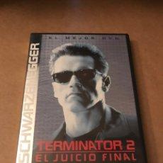 Cine: TERMINATOR 2 EL JUICIO FINAL - DVD. Lote 215263045