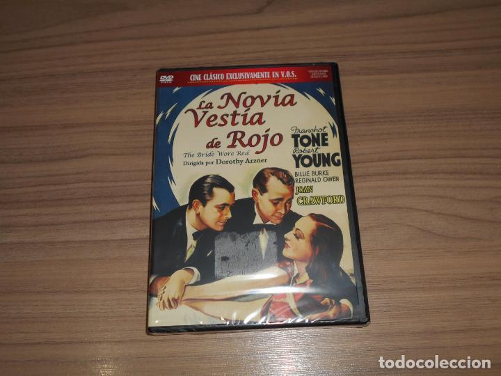 LA NOVIA VESTIA DE ROJO DVD ROBERT YOUNG JOAN CRAWFORD NUEVA PRECINTADA (Cine - Películas - DVD)