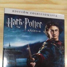 Cine: DVDS HARRY POTTER AÑOS 1-4 EDICION COLECCIONISTA 4 PELICULAS + 4 VALORES AÑADIDOS. Lote 215410503