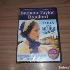 Cine: TODA UNA MUJER SERIE COMPLETA 2 DVD 300 MIN. BARBARA TAYLOR NUEVA PRECINTADA. Lote 253660800