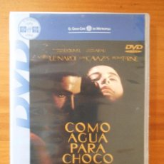 Cinema: DVD COMO AGUA PARA CHOCOLATE - ALFONSO ARAU (AF). Lote 215634125