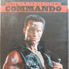 Cine: COMMANDO - SCHWARZENEGGER- DVD CINE. Lote 215645545